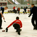 olympians curling